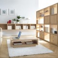 stylish-light-wooden-furniture-sets-also-white-floor-lamp-and-rug-perfecting-small-living-room-design-1024x681